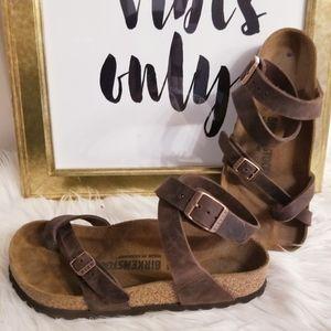 Birkenstock gladiator style sandals